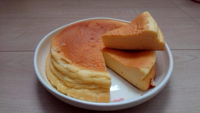 我が家のチーズケーキ