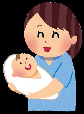 出産後のお母さんと赤ちゃん
