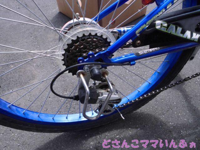 子供の自転車のギアチェンジ機能はいる?