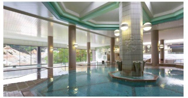 第一滝本館の大浴場