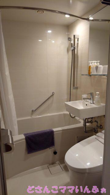 第一滝本館南館の部屋のトイレ