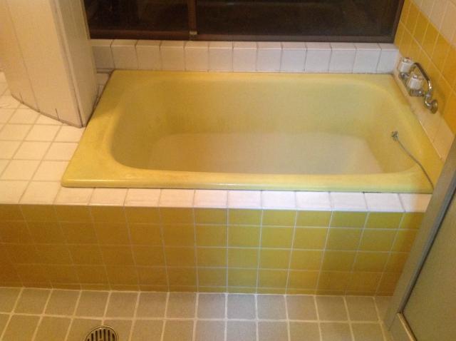 お風呂のエプロンがないタイプ