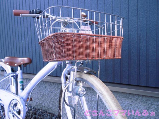 子供自転車のライト交換後