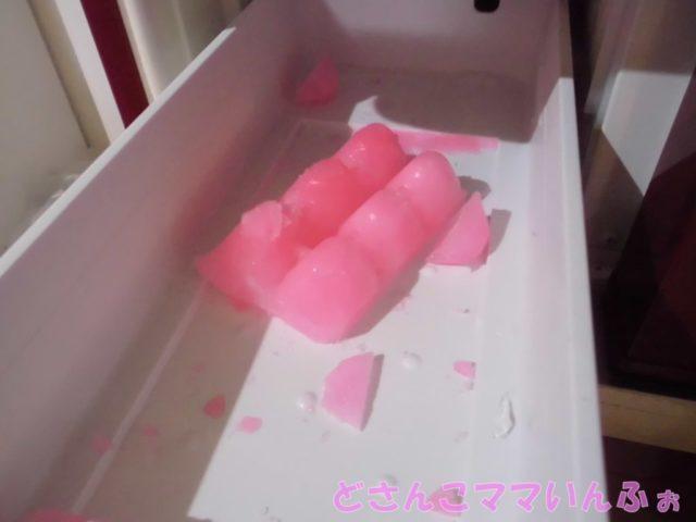 冷蔵庫の製氷機のお手入れ