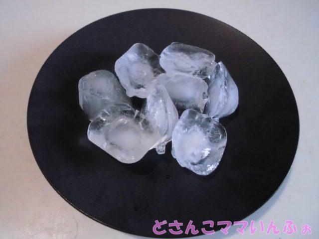 冷蔵庫の氷が濁っている