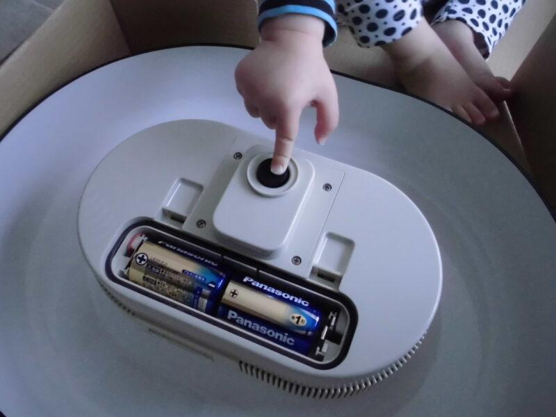 流しそうめん機の電池(モーター)本体